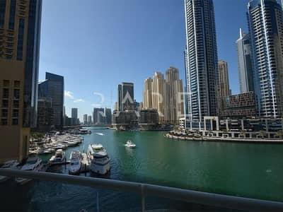 2 Bedroom Apartment for Rent in Dubai Marina, Dubai - Amazing View 2BR Dubai Marina Atlantic
