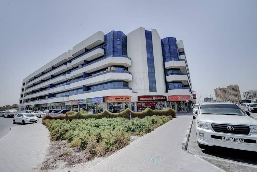 14 Studio Office with Central A/C | Semi Furnished | Al Qusais