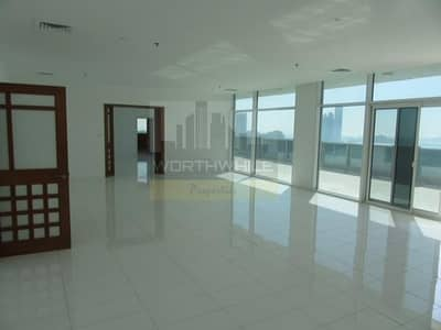 6 Bedroom Penthouse for Rent in Corniche Road, Abu Dhabi - Super Luxuries Duplex PentHouse available on rent with sea view from all sides on Corniche GENERATE PDF