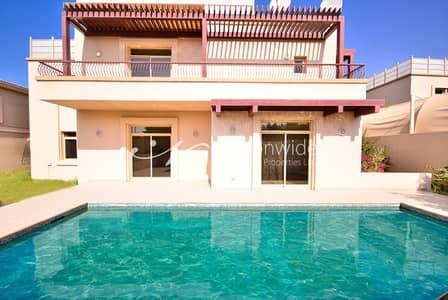 6 Bedroom Villa for Sale in Al Raha Golf Gardens, Abu Dhabi - Good Price! 6BR w/ Pool in Golf Gardens
