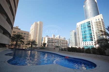 فلیٹ 1 غرفة نوم للايجار في دبي مارينا، دبي - 1BedRoom Chiller Free Marina Dream Tower