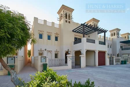 3 Bedroom Townhouse for Sale in Al Hamra Village, Ras Al Khaimah - Tenanted 3 Bedroom Villa -  Near Golf Course - Al Hamra Village