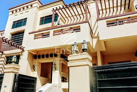 5 Bedroom Villa for Sale in Abu Dhabi Gate City (Officers City), Abu Dhabi - Spacious 5BR in Officers Club Area with a Sea View !