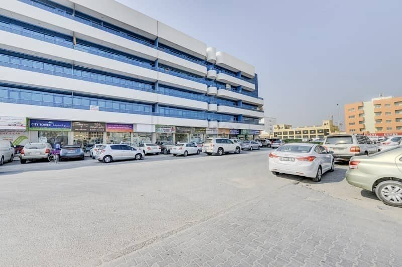 18 Spacious 1050 Sq.Ft  Office | Semi-Furnished |Al Qusais