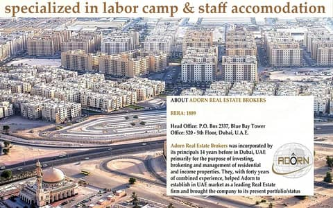 Labour Camp for Sale in Muhaisnah, Dubai - For Sale l Dropped Price - Independent Labour Accommodation ( 70 rooms) l Good Location