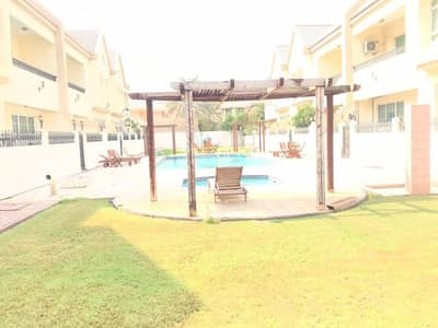 Villa for Rent in Al Manara, Dubai - Elegant l 4 bedroom Villa l with pool and garden in Al Manara