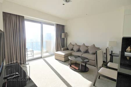1 Bedroom Flat for Rent in Dubai Marina, Dubai - Fully serviced 1BR. Great view. Negotiable