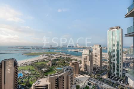 3 Bedroom Flat for Rent in Dubai Marina, Dubai - Unfurnished Unit |Immaculate |Available