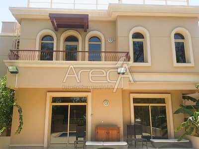 4 Bedroom Villa for Rent in Khalifa City A, Abu Dhabi - Dplendid 4 Bed Villa with Private Pool! Shared Facilities in Golf Gardens