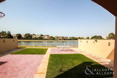 3 Bedroom Villa for Rent in The Springs, Dubai - 3 Bedrooms | Landscaped | Full Lake View