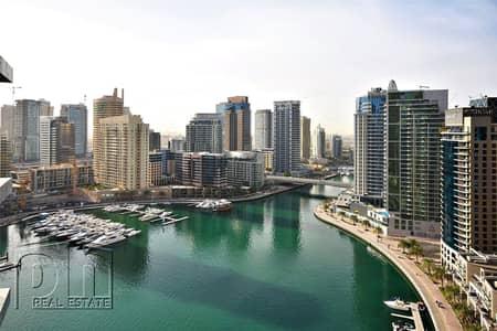 1 Bedroom Apartment for Rent in Dubai Marina, Dubai - Vacant - Full Marina View - 1 Bedroom - Furnished