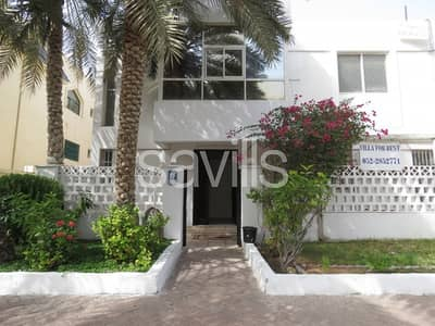 4 Bedroom Villa for Rent in Al Karamah, Abu Dhabi - Well maintained four bedroom villa