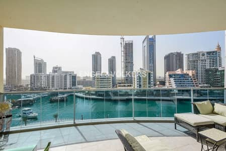 2 Bedroom Apartment for Sale in Dubai Marina, Dubai - Full Marina view | Spacious | Maids room