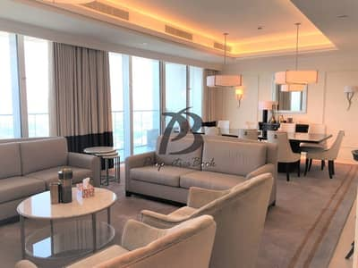 4 Bedroom Flat for Sale in Downtown Dubai, Dubai - FULLY FURNISHED| READY TO MOVE| SEA VIEW