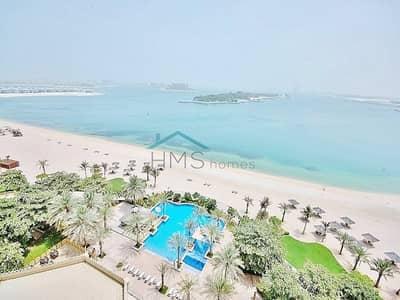 1 Bedroom Flat for Rent in Palm Jumeirah, Dubai - 1 Bedroom Full Sea View Beach Club