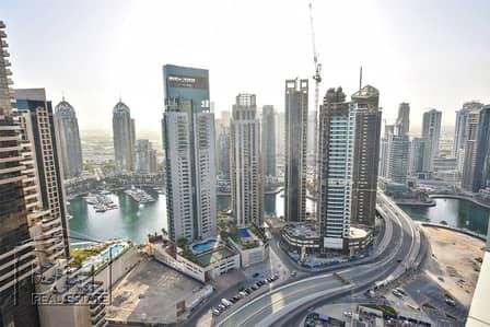 Studio for Rent in Dubai Marina, Dubai - Vacant - Unfurnished - Marina View - Studio