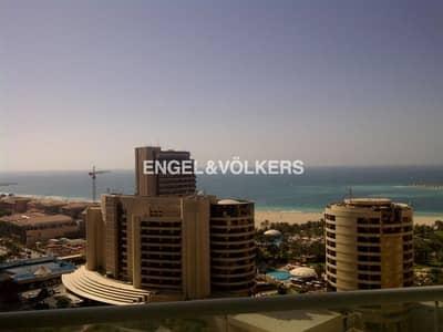 1 Bedroom Apartment for Rent in Dubai Marina, Dubai - Unfurnished| Sea View| Kitchen Appliances