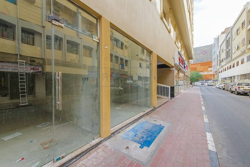 220 Sq.Ft  Shop with Split A/C  Close to Metro Station   Deira