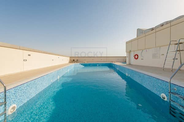 2 1 Bed | Swimming Pool & Gym | Al Nahda