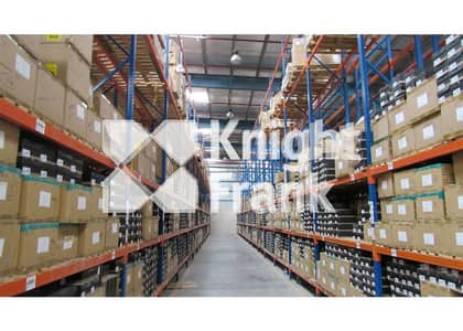 Warehouse for Sale in Jebel Ali, Dubai - Grade A logistics warehouse with racking