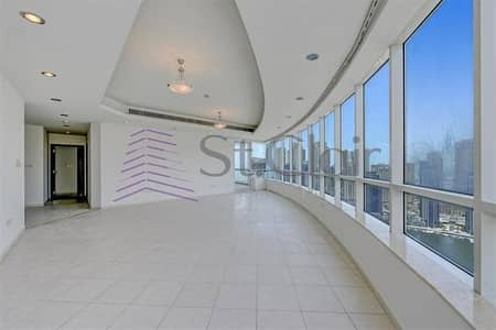 4 Bedroom Flat for Sale in Dubai Marina, Dubai - Horizon Tower|Marina View|4BR with Balcony