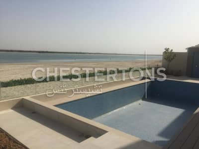 5 Bedroom Villa for Rent in Saadiyat Island, Abu Dhabi - Fully Landscaped I Private Pool I Direct to the Beach