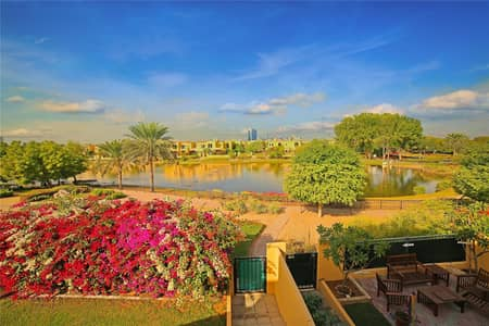 3 Bedroom Townhouse for Sale in Arabian Ranches, Dubai - Rare To Market | Full Lake View | 3 Beds