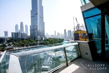 3 Bedroom Apartment for Sale in Downtown Dubai, Dubai - Vacant | Low Floor | Full Khalifa Views