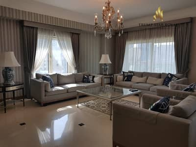 4 Bedroom Penthouse for Rent in Dubai Marina, Dubai - Upgraded Duplex 4Br+M with gorgeous Marina View
