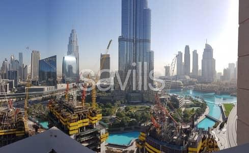 2 Bedroom Flat for Sale in Downtown Dubai, Dubai - Burj Khalifa View | High Floor | Furnished