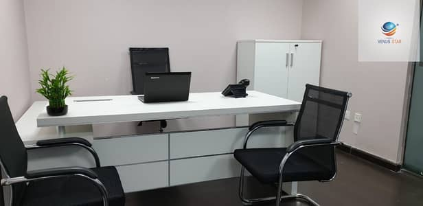Office for Rent in Deira, Dubai - Fully Fitted Furnished Office| No commission | Direct Owner In Al Rigga