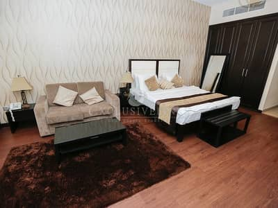 Studio for Rent in Arjan, Dubai - 12 Cheques Serviced Apartment Vacant Now