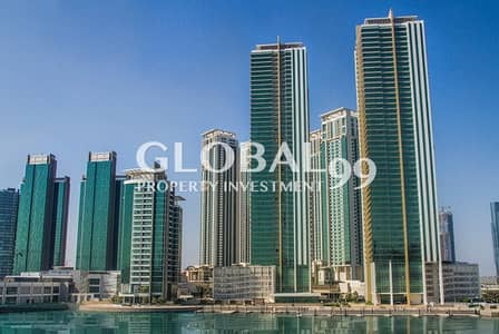 1 Bedroom Apartment for Sale in Al Reem Island, Abu Dhabi - 1BR in Tala Tower with 2 Balcony High-floor