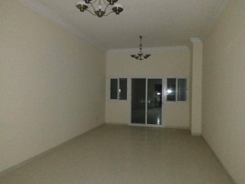 Very big studio with balcony just 28k opp sahara center only for family in al nahda sharjah