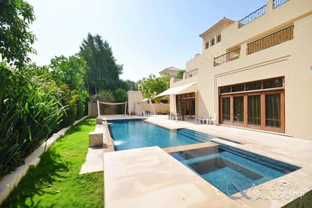 6 Bedroom Villa for Sale in Al Barari, Dubai - Exclusive l Acacia l Lake View l Vacant