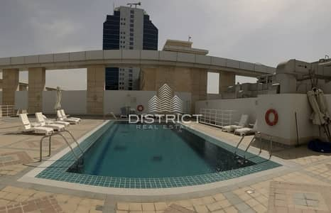 Studio for Rent in Al Nahyan, Abu Dhabi - Studio Apartment with Parking in Dusit Thani