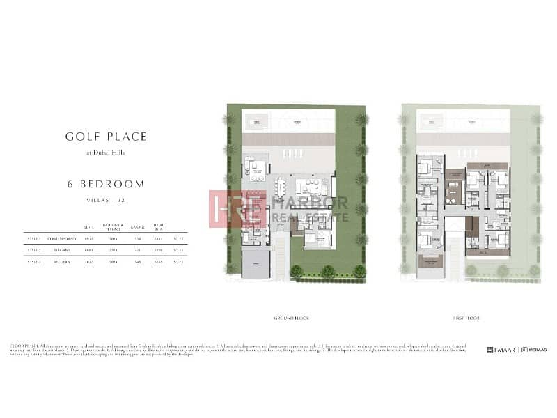 2 Resale|First Line From Golf Course|Contemporary Villa|