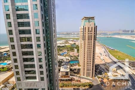 2 Bedroom Flat for Rent in Dubai Marina, Dubai - Bright + Great viewsBotanica Tower2bed