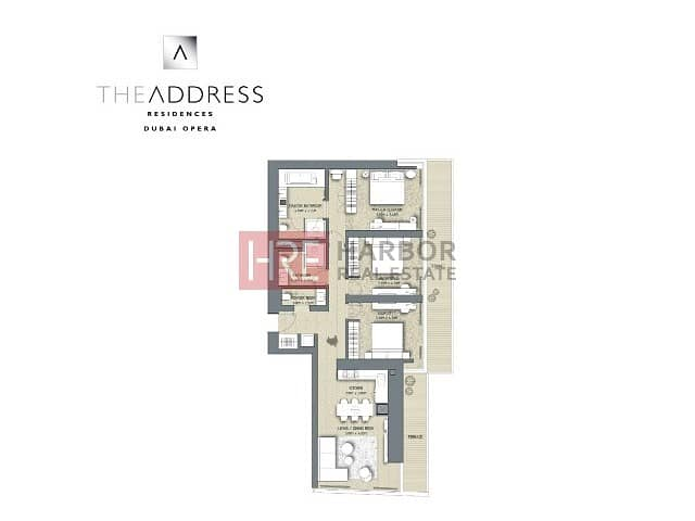 2 Resale|Very High Floor|Full Direct Burj Khalifa View|