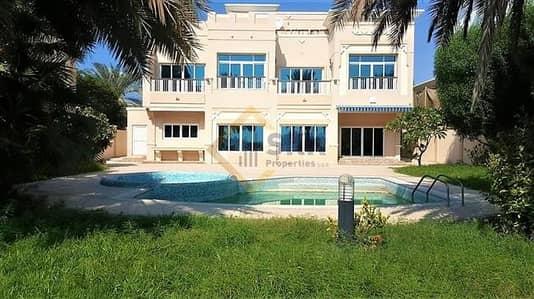 5 Bedroom Villa for Rent in Marina Village, Abu Dhabi - Sea view|5Br villa with Pool|Huge Garden