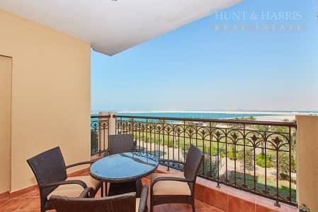 شقة فندقية 1 غرفة نوم للايجار في جزيرة المرجان، رأس الخيمة - Spectacular Views - Al Marjan Resort and Spa