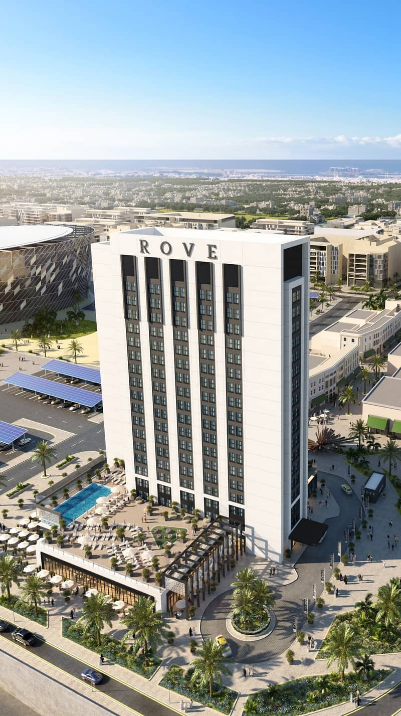 10 Rove City Walk From AED 733,888* | 8% ROI*
