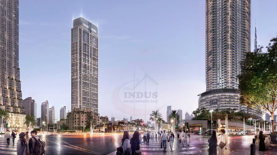 2 2% DLD Waiver  Spectacular Downtown Views  at Burj Royal
