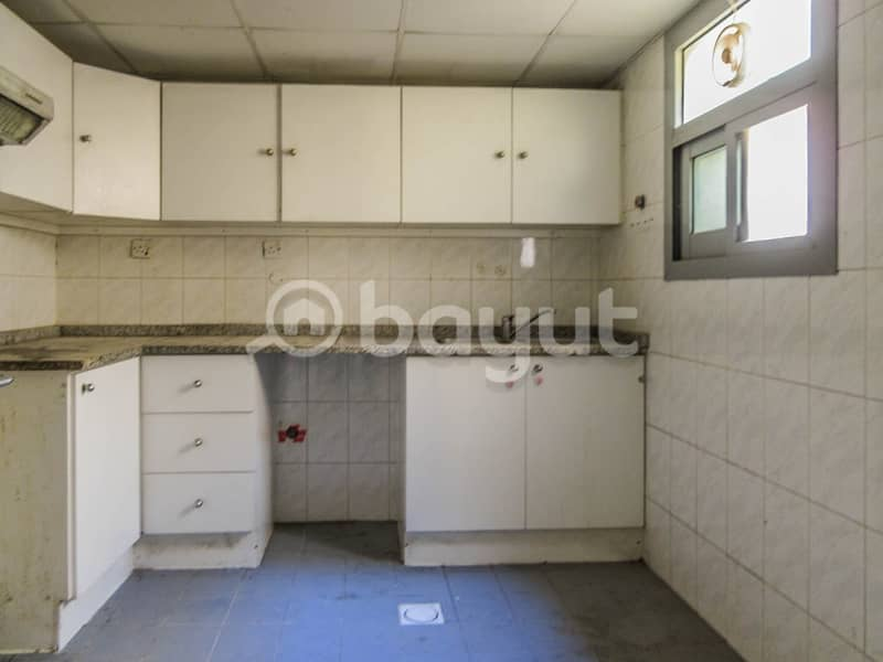 11 Spaces 2 B/R Flat for Rent