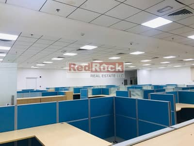 Office for Rent in Umm Ramool, Dubai - Fully fitted Office For Rent 2mins Walk From Emirates Metro Station