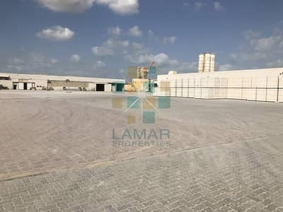 Plot for Rent in Jebel Ali, Dubai - 15/sq ft inter locked yard & shed @ 30/sq ft high power