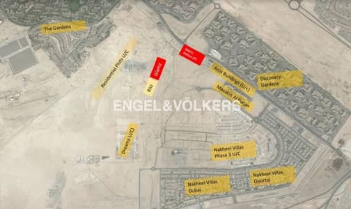 Mixed Use Land for Sale in Al Furjan, Dubai - Mixed use building plot | On boulevard .