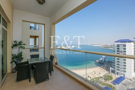 فلیٹ 1 غرفة نوم للبيع في نخلة جميرا، دبي - Beautiful Sea View Penthouse Level 1BR B1