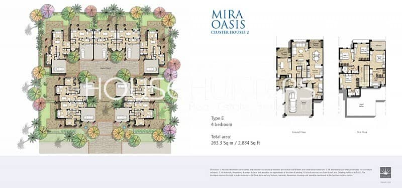 11 Landscaped |Type E|Near Park| Mira Oasis