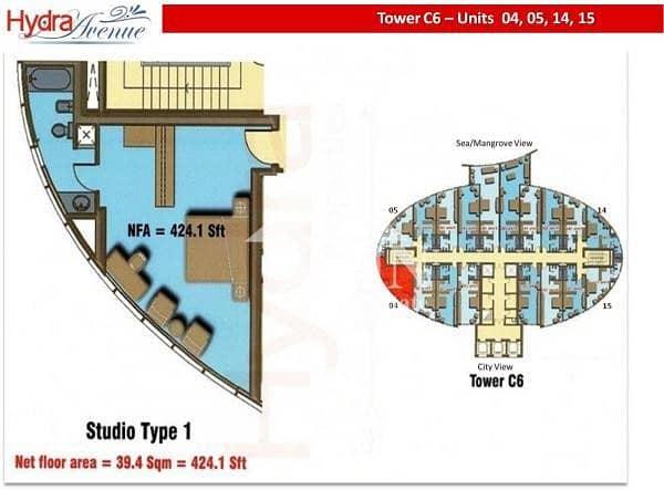 12 Hot Price: Nice Studio For Sale In Hydra Avenue...